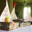 Crafting with the kids {Sailboats}